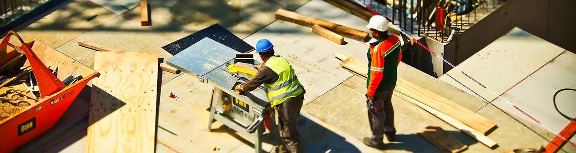Arbeitskraft und Unfallschutz